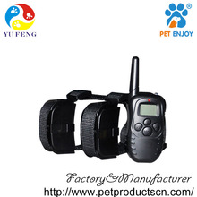 Alibaba China Manufacturer Remote Dog Training Collar for 2 Dogs