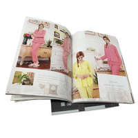 Factory direct price top quality 128g art paper catalogue printing