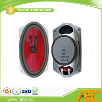 oval shaped 8ohm 10w subwoofer tv speaker