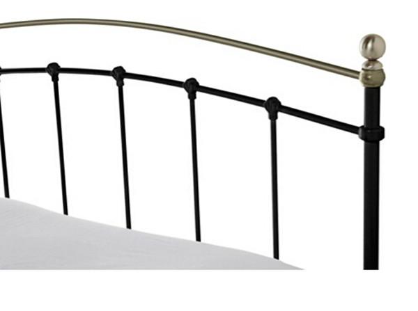 Oban nero king size 5ft metallo telaio del letto metal letto id prodotto 60463185321 italian - Telaio del letto ...