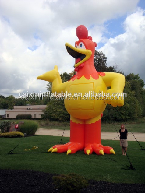 commercial grade PVC tarpaulin inflatable giant turkey/ inflatable advertising turkey balloon