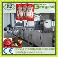 Tomato Paste Processing Line Ketchup Production Plant