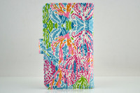Trendy universal phone case tropical print with sucker