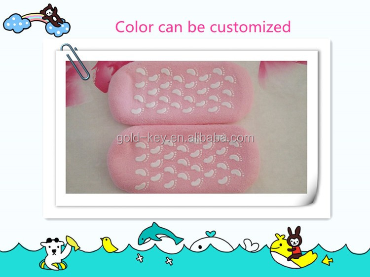 Colour Pop Cosmetics Baby Foot Whitening Gel Socks for Beauty