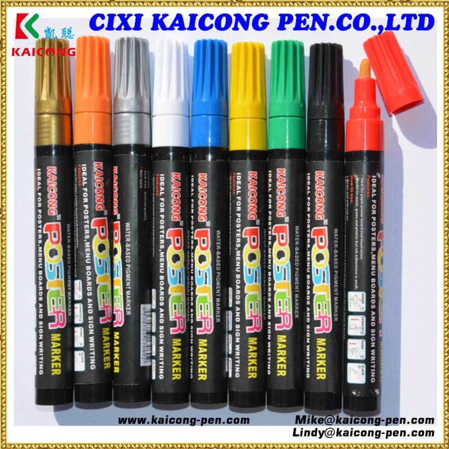 iPOSCA Water-based Paint Marker from Decoink,Water-Based Liquid Chalk marker.Valve Action Acrylic paint marker