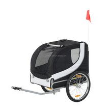 foldable dog bike trailer