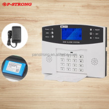 Remote Control Door Sensor Fire Alarm Smoke Detector With Human Infrared Detector