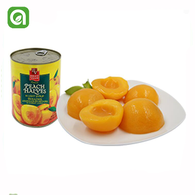 Canned Fruit Canned yellow peach halves