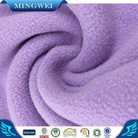 Two Side Brushed 100% Polyester Polar Fleece Fabric