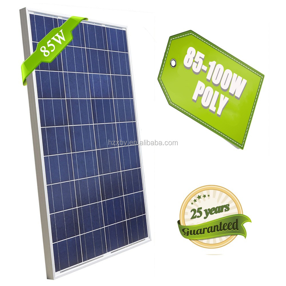 light weight solar panel price 85w 1kw in india