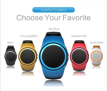 Smart wristband watch speaker mine bluetooth wireless hands-free mini speaker 3w