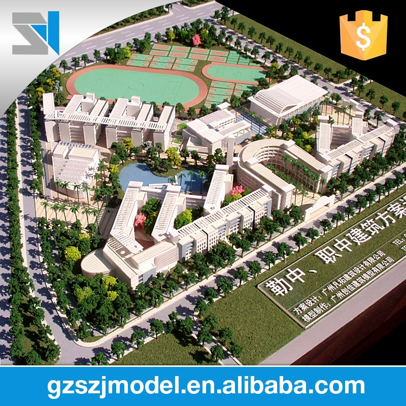 New Design Excellent Quality Architecture Rendering for school plan 3d architecture model