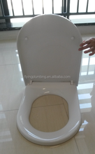 quick release soft close Europe D shape pp toilet seat F3693S