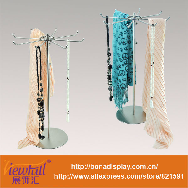 multi-purpose metal shelf for tie,scarf,necklace etc
