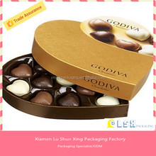 Popular High quality customized acrylic chocolate box ,Fancy chocolate boxes box inserts