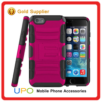 [UPO] 2016 China wholesale! hybrid rugged hard case cover for iPhone 6 case 3 in 1 armor cell phone case