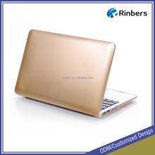 Champagne Gold Print Hard Shell Plastic Case Glossy for MacBook Air 11.6 13.3 Pro Retina 12 13 15 Cover