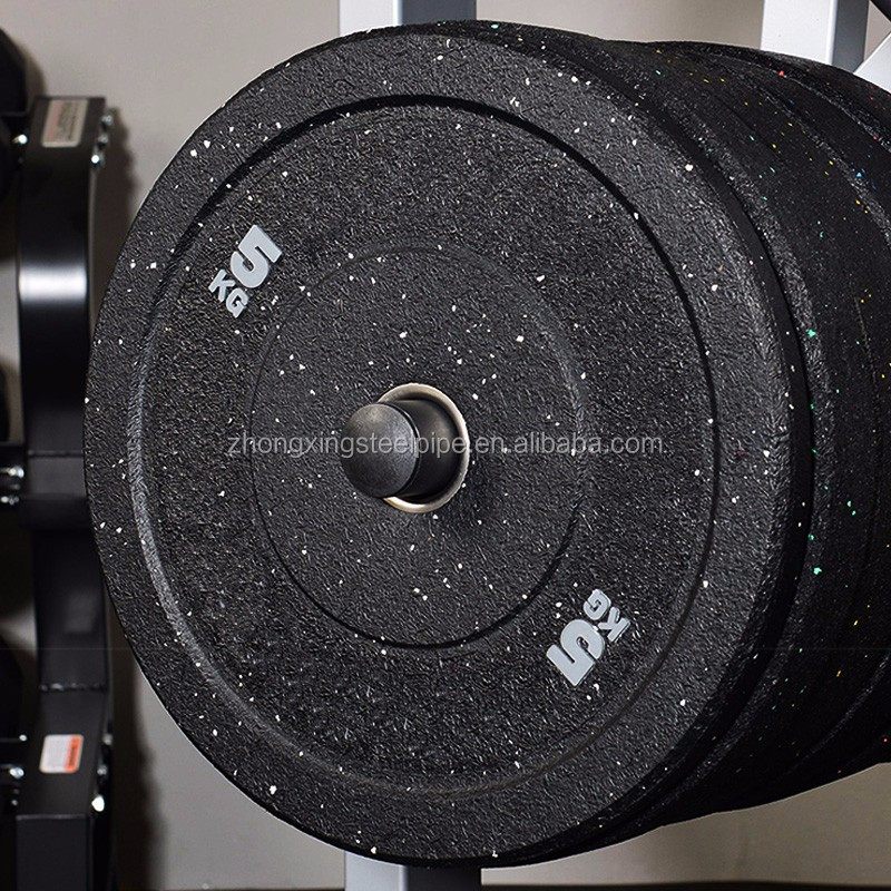Crossfit gym barbell weight training High temp bumper plate