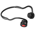 2017 New neckband bone conduction bluetooth sport headset foldable neckband bone conduction bluetooth earphone with microphone