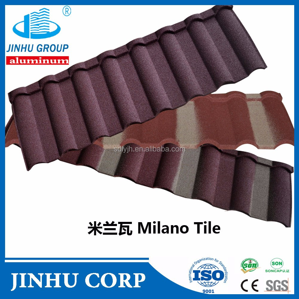 Nosen Type,waves tiles Type and steel plate,natural stone Material stone coated step tile roofing sheet