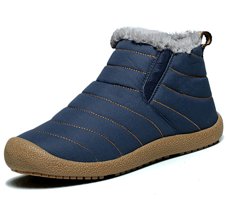 2016 Winter new men 's fur boots, snow boots, men' s cotton shoes plus velvet warm boots wholesale boots