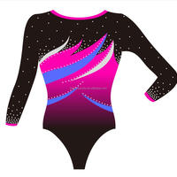 Ombre Sublimation Mystique Girls Long Sleeved