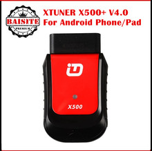 Super function Xtuner 500 Bluetooth Android Universal OBD2 Car Diagnostic Tool for Engine,ABS,Battery,DPF,EPB,Oil,TPMS,IMMO