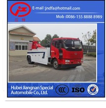 FAW heavy duty Road Wrecker towing truck 20 Ton for sale (JDF5160TQZC4 Tow truck wrecker)