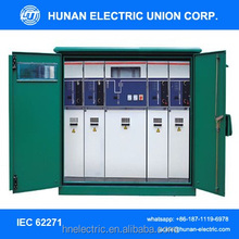 11kv/12kv/15kv mv medium voltage switchgear/SF6 insulated compact switchgear switchboard/ Electrical box