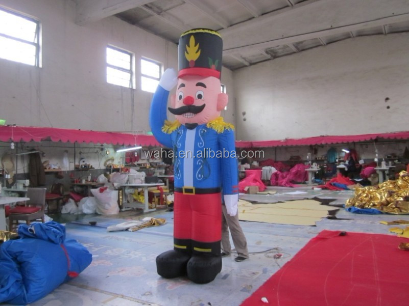 hot selling inflatable super mary for christmas decoration