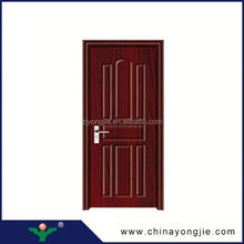 China zhejiang manufacture Position Interior pvc interior door