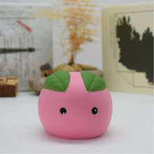 Home Decoration Kawaii Steamed Bun Squishy Cartoon Slow Rising Toy
