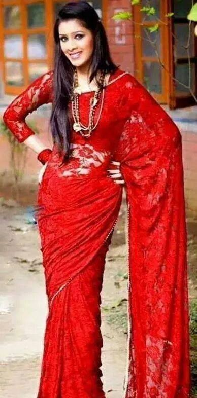 Amazing 2015 Saree from Bangladesh