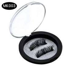 Hot Sell Wholesale Magnet Mink Lashes No Glue False Eyelase Magnetic False Eyelashes 3d Mink