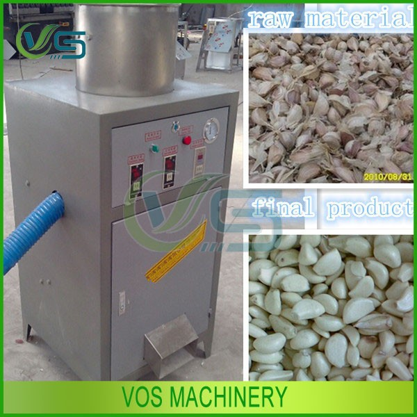 new design professional garlic skin peeling machine/dry garlic peeler with CE approved