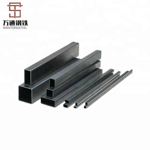 Chinese factory Good quality cheap can bend the black hollow steel pipe