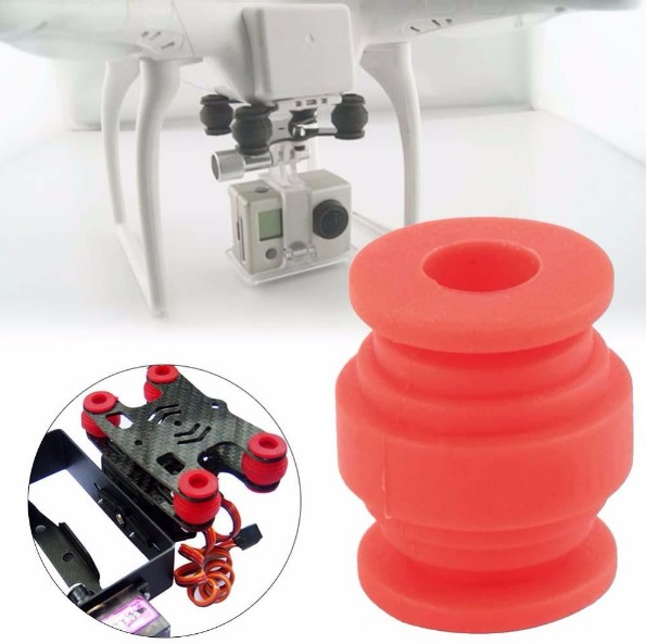 High Elastic Anti,Vibration Rubber Isolators Dampener Ball Dual head For Gimbal FPV AV