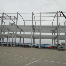 Steel structure building multi-storey for factory frame structure