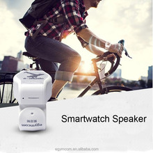 Bluetooth Speaker Watch Style On Wrist Handfree Outdoor Sport Portable Speakers Music Loudspeaker Support FM Radio TF Card