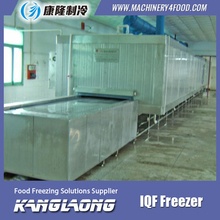 New Design Shrimp iqf tunnel freezer in industrial freezer