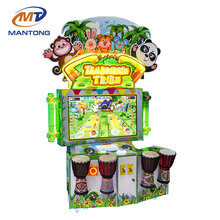 Funny Tambour Tribe Redemption/Lottery Tickets Game Arcade Coin Operated Ticket Redemption Indoor Video Game Machine