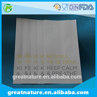 disposable paper food bags with logo printing