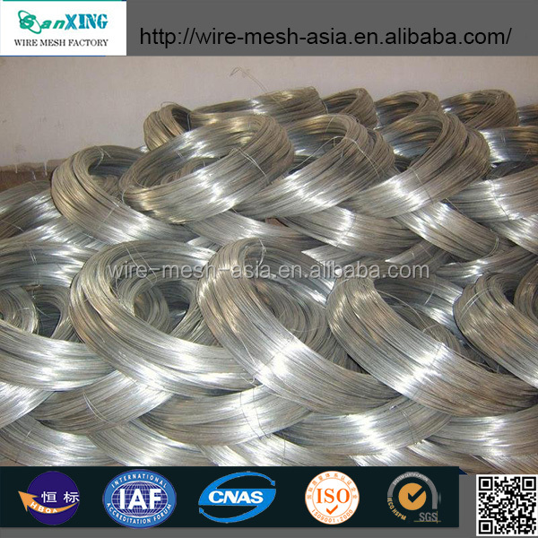 re draw galvanized wire for wire mesh/staples