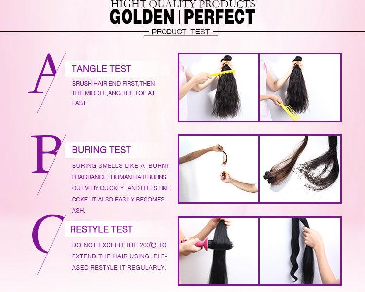 Drop Shipping Virgin Hair Weave Human Hair Extension 100 Virgin