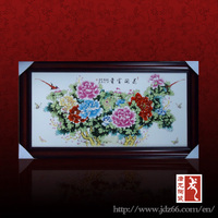 Jingdezhen factory direct decorative OEM Chinese porcelain painting