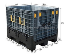 1200*1000 export and shipping plastic box/clear small plastic containers