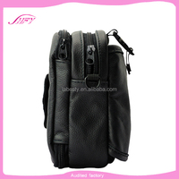 alibaba china supplier new product genuine leather wallets bag hot cow leather shoulder wallets bag