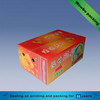 High Grade Custom Printed Corrugated Fruit Packaging Box