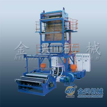 hot sale rotary die head pe film blowing machine