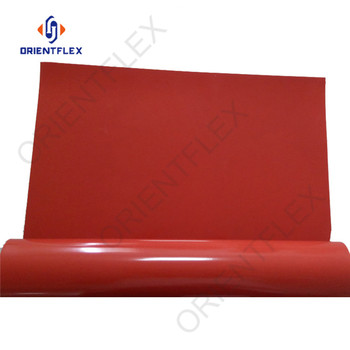 Custom reinforced oil resistant White Silicon Rubber Sheet manufacturers